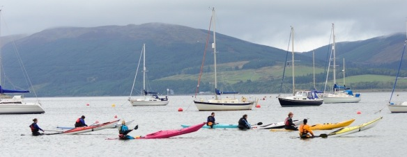 women scottish seakayak 288